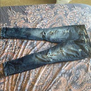 decree super skinny jeans
